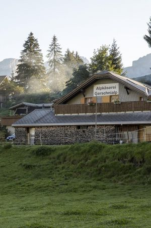 Alpkäserei Gerschnialp, Engelberg