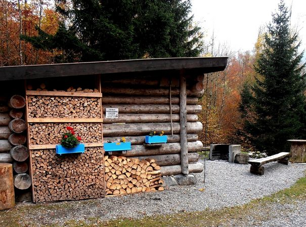 Brennwald barbecue spot, Emmetten