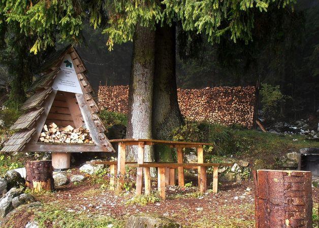 Alp Bleiki Niederrickenbach barbecue spot, Oberdorf
