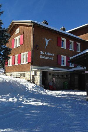 Skihaus SC Altbach, Rötenport