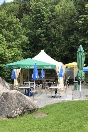 Rütenen Summer restaurant, Beckenried - April to October