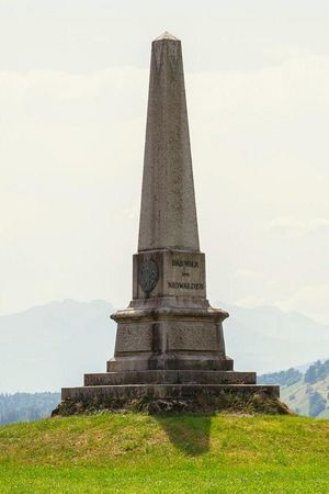 Denkmal Allweg / Franzosenüberfall