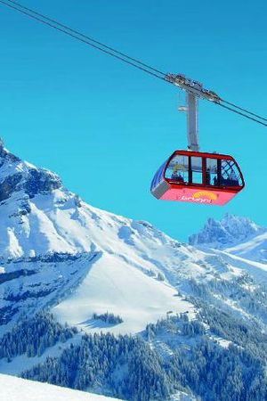 Cable car Engelberg - Ristis