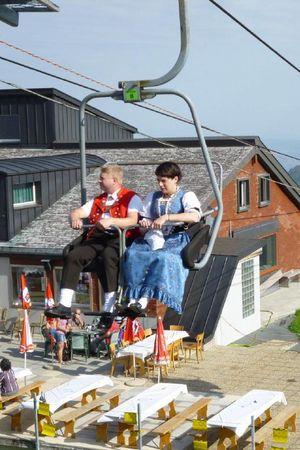 Sessellift Haldigrat, Alpboden - Haldigrat