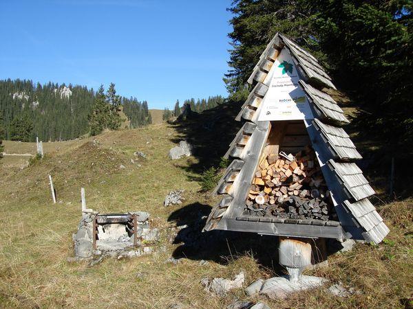 Hüethütte barbecue spot, Wolfenschiessen