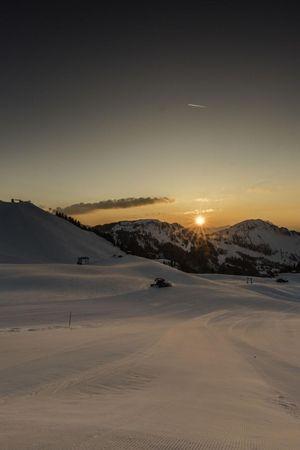 Night skiing & night sledging, Klewenalp