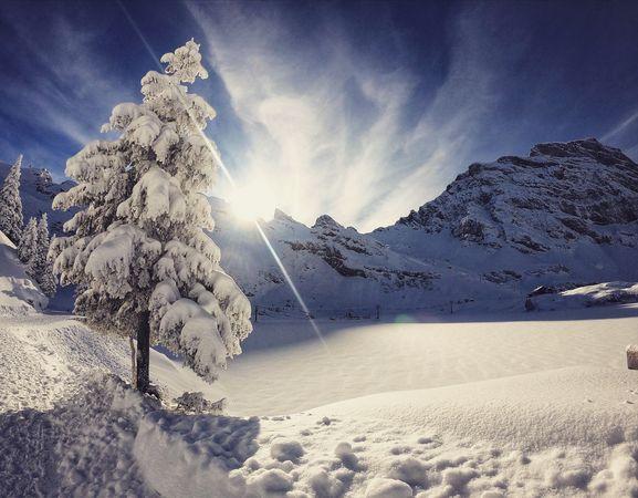 Schneeschuhtour Obertrüebsee Trail