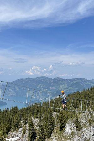 Klettersteig Klewenalp