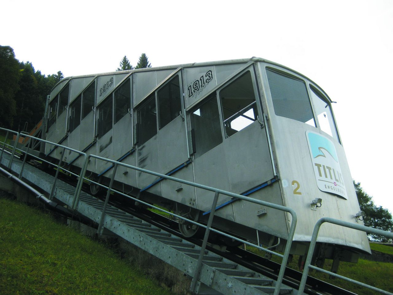Standseilbahn Engelberg - Gerschnialp