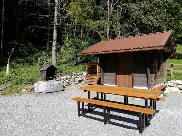 Etschenried barbecue spot, Obbürgen