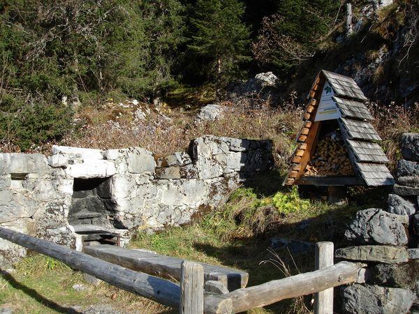 Bergplanggen barbecue spot, Beckenried