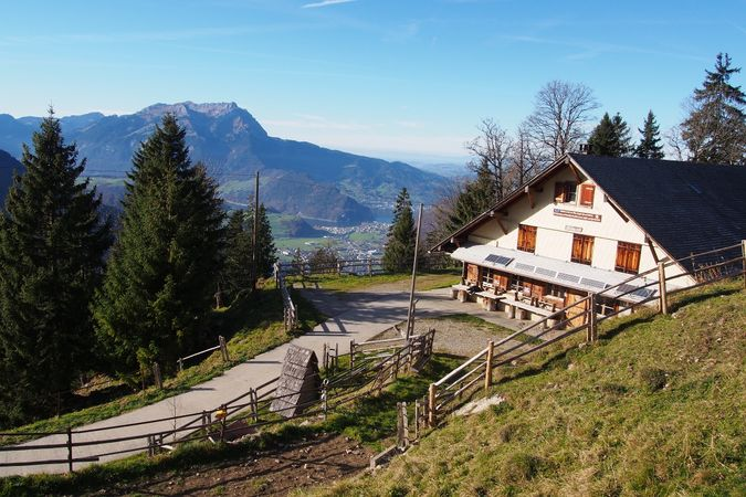 Arhölzli barbecue spot, Oberdorf
