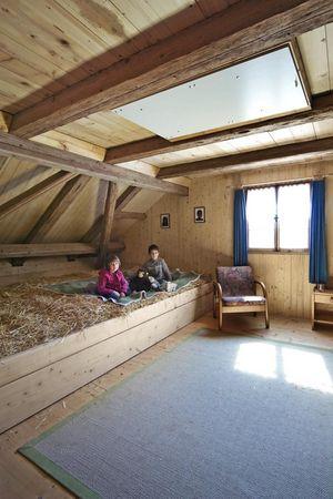 Schlafen im Stroh, Seelisberg