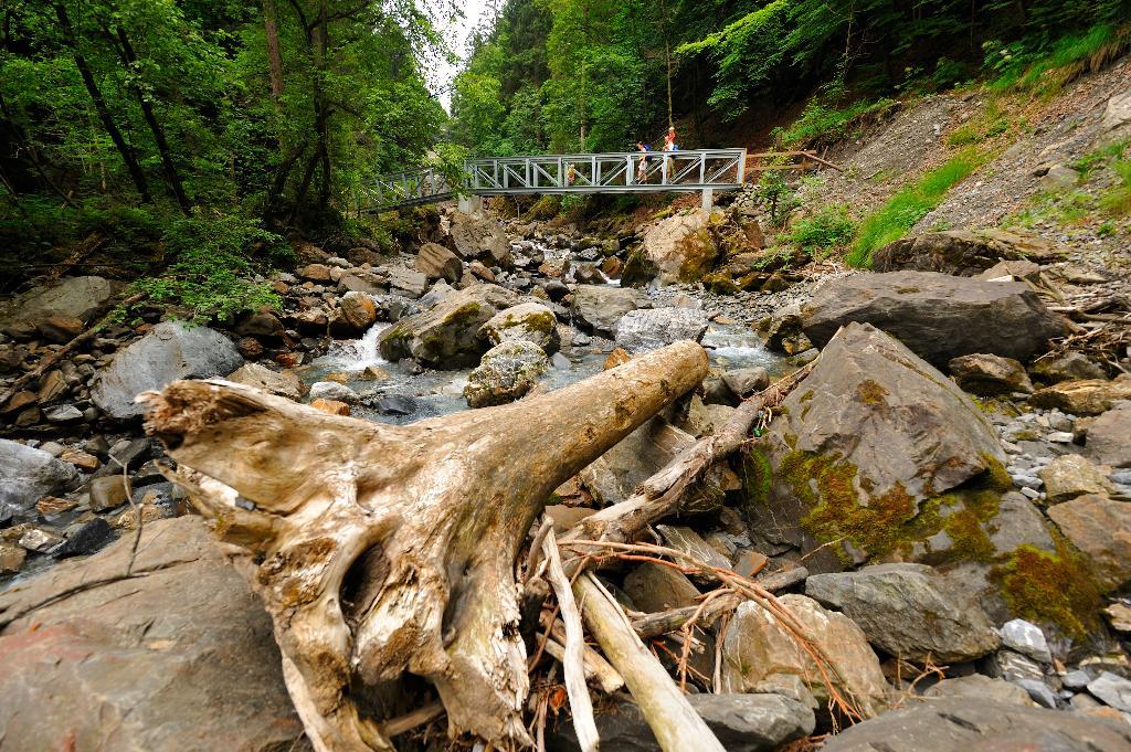 Engelberg Aa Gorge trail