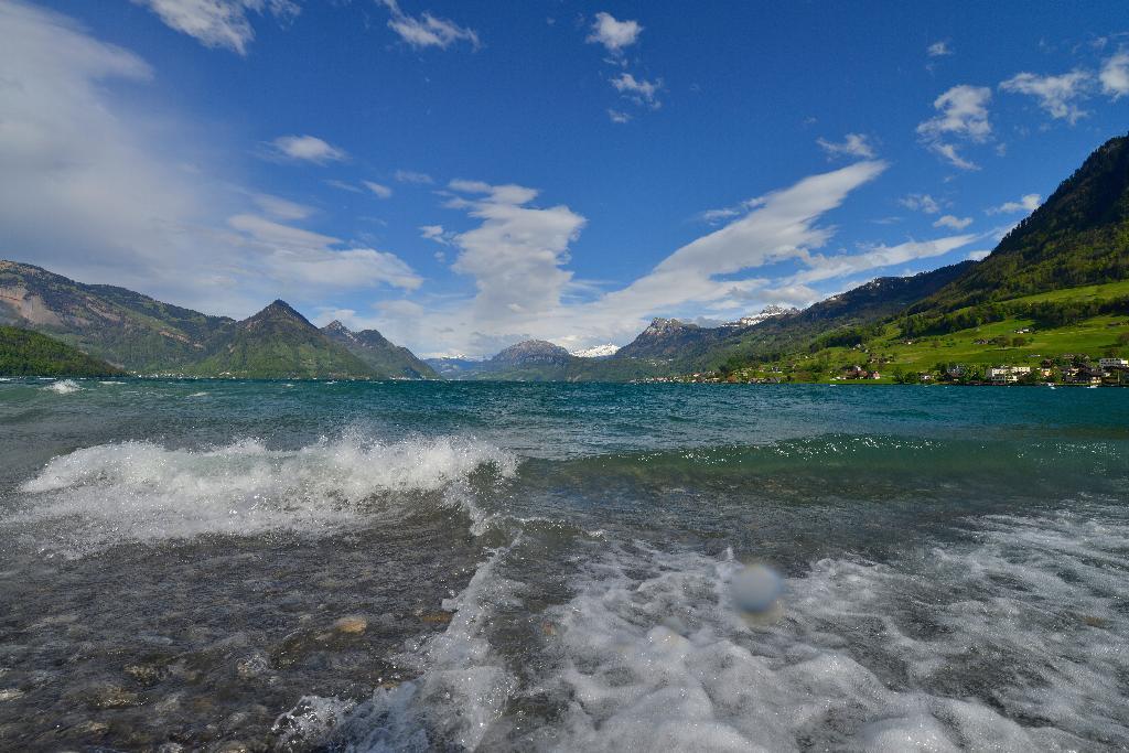 Über die beliebte Badewiese Neuseeland nach Beckenried