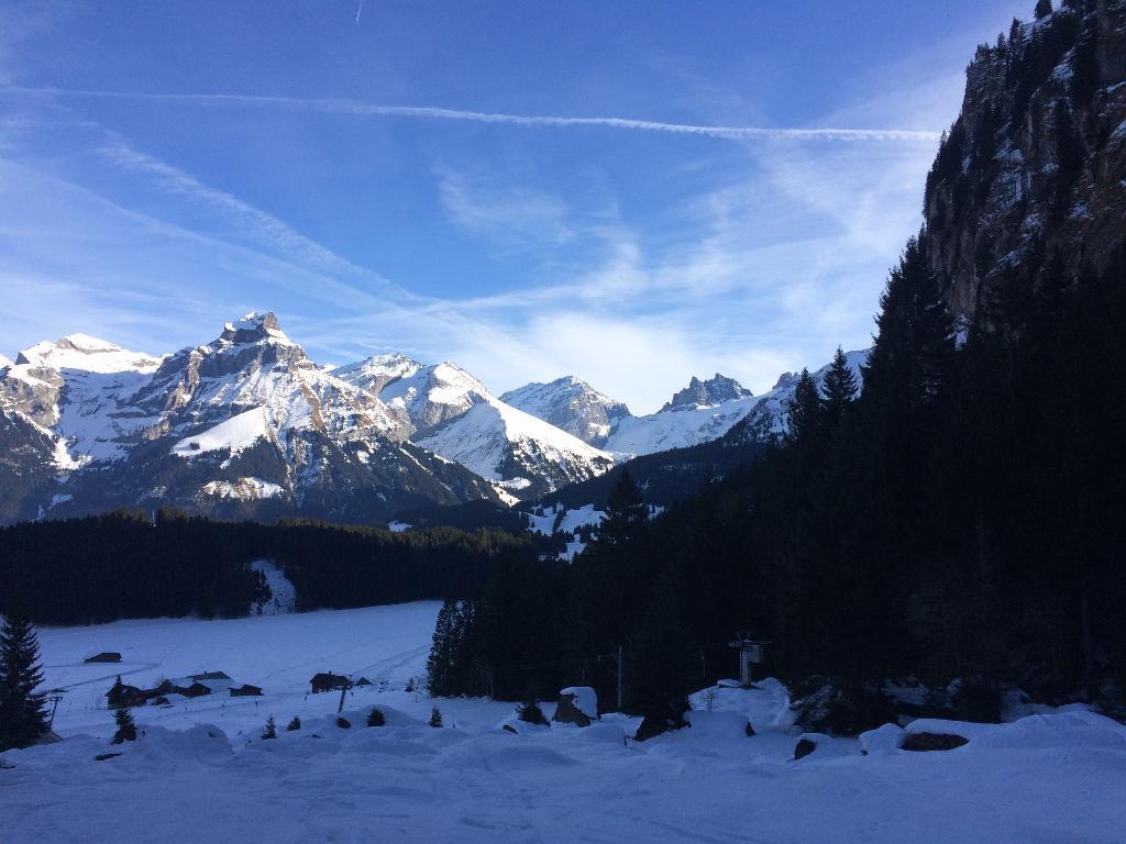 Schneeschuhwanderung Engelberg-Untertrübsee