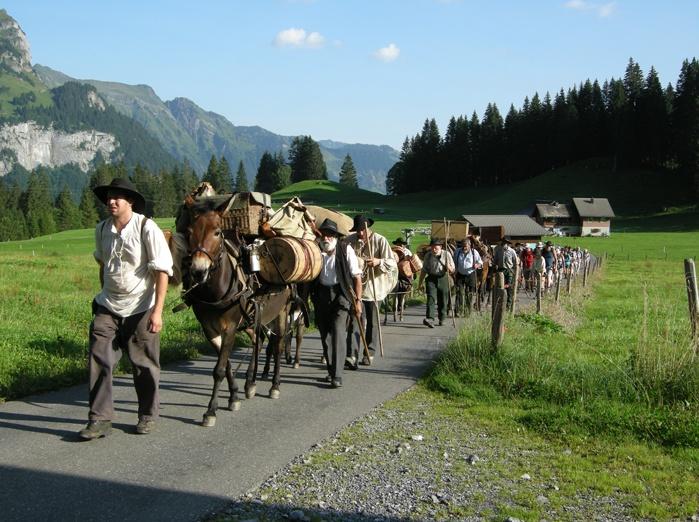 Via Sbrinz Stansstad - Engelberg (Sbrienz-Route)